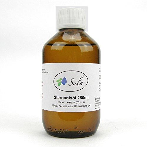 Sala Sternanisöl Anisöl ätherisches Öl naturrein 250 ml Glasflasche