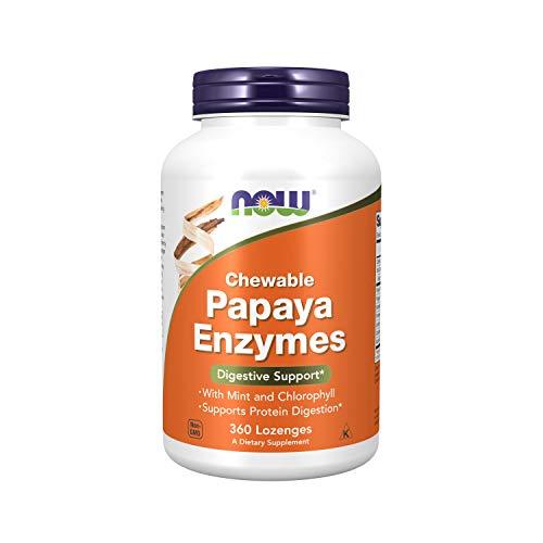 Now Foods Papaya Enzyme Chewable, 360 lozenges