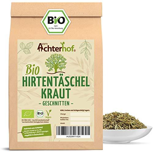 BIO Hirtentäschelkraut getrocknet geschnitten (100g) vom-Achterhof Hirtentäschel-Tee - Shepherds purse herb organic